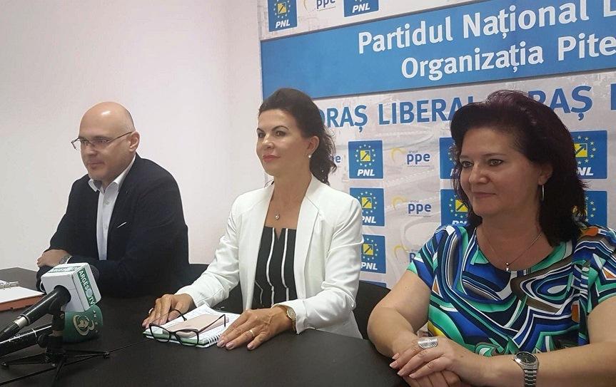 Notăriţa Ana Stan pleacă cu bagaj electoral, în lupta pentru Primăria Piteşti