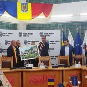 Directorul general DACIA, Christophe Dridi, a devenit Cetăţean de Onoare al Mioveniului