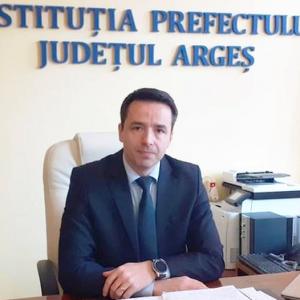 Emanuel Soare, la finalul mandatului de prefect al Argeşului: NU A FOST UŞOR