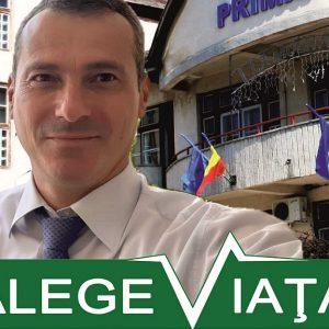 Florin Sandu, vicele de la Costeşti, candidatul PER pentru funcţia de primar