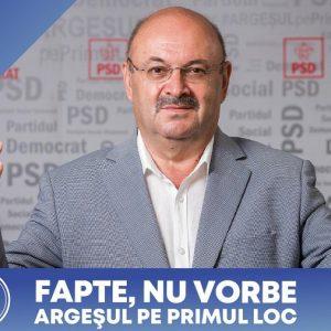 Ion Mînzînă, candidatul PSD la președinția Consiliului Județean : Am ambiția ca Argeșul să  devină prima atracție turistică din România!
