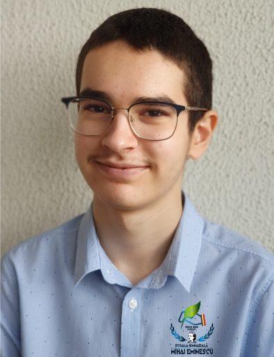 Emanuel Mazăre, în lotul României la Olimpiada Balcanică de Matematică pentru Juniori (JBMO)